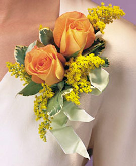 Two Rose Corsage