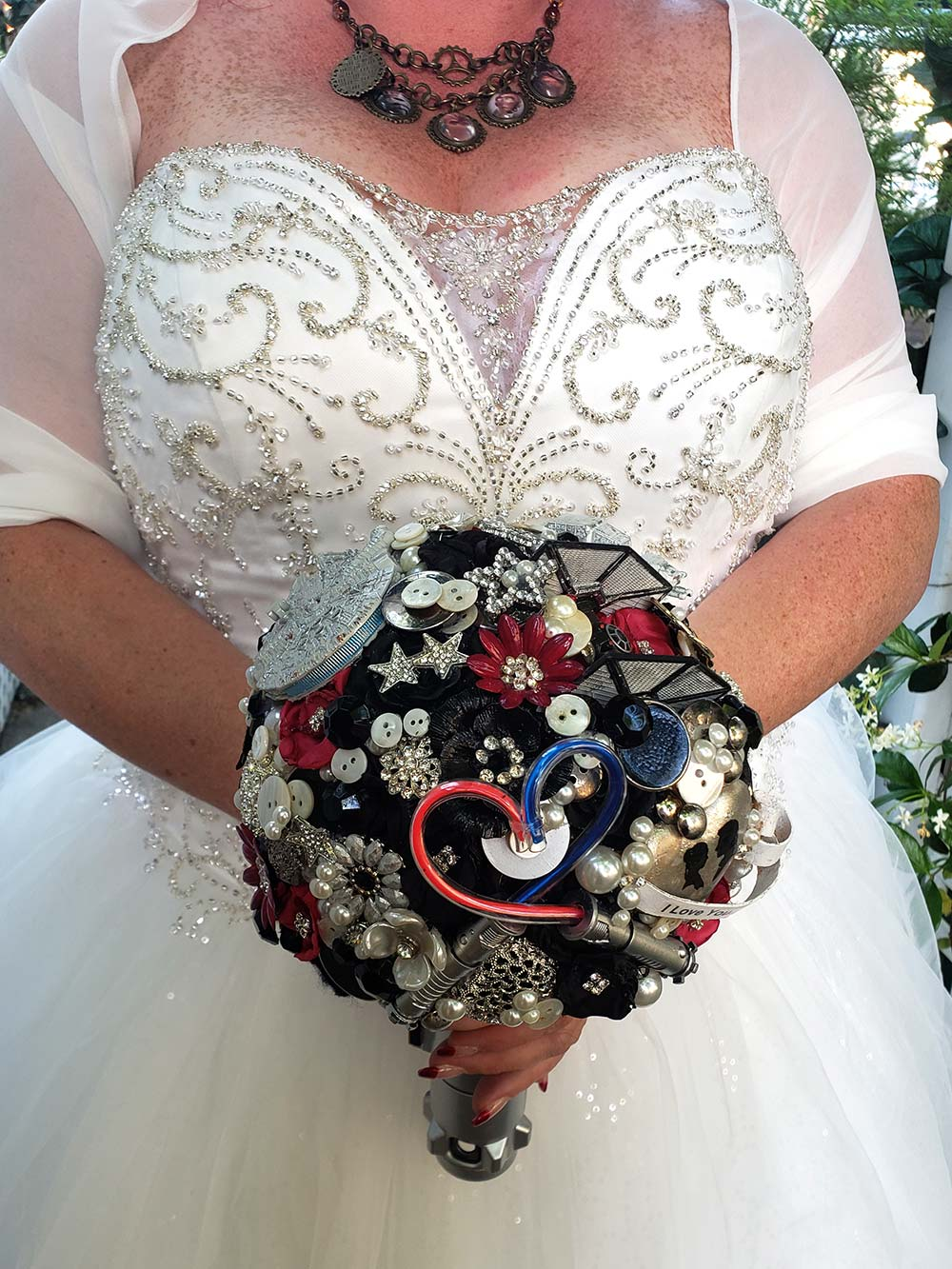 Star Wars Wedding Bouquet