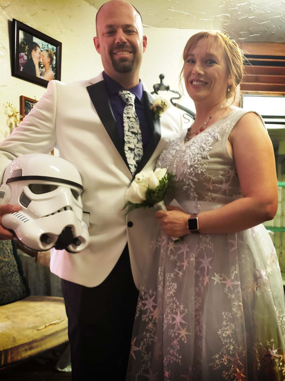 Star Wars Wedding Flowers