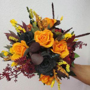 Ghoulish Silk Bouquet